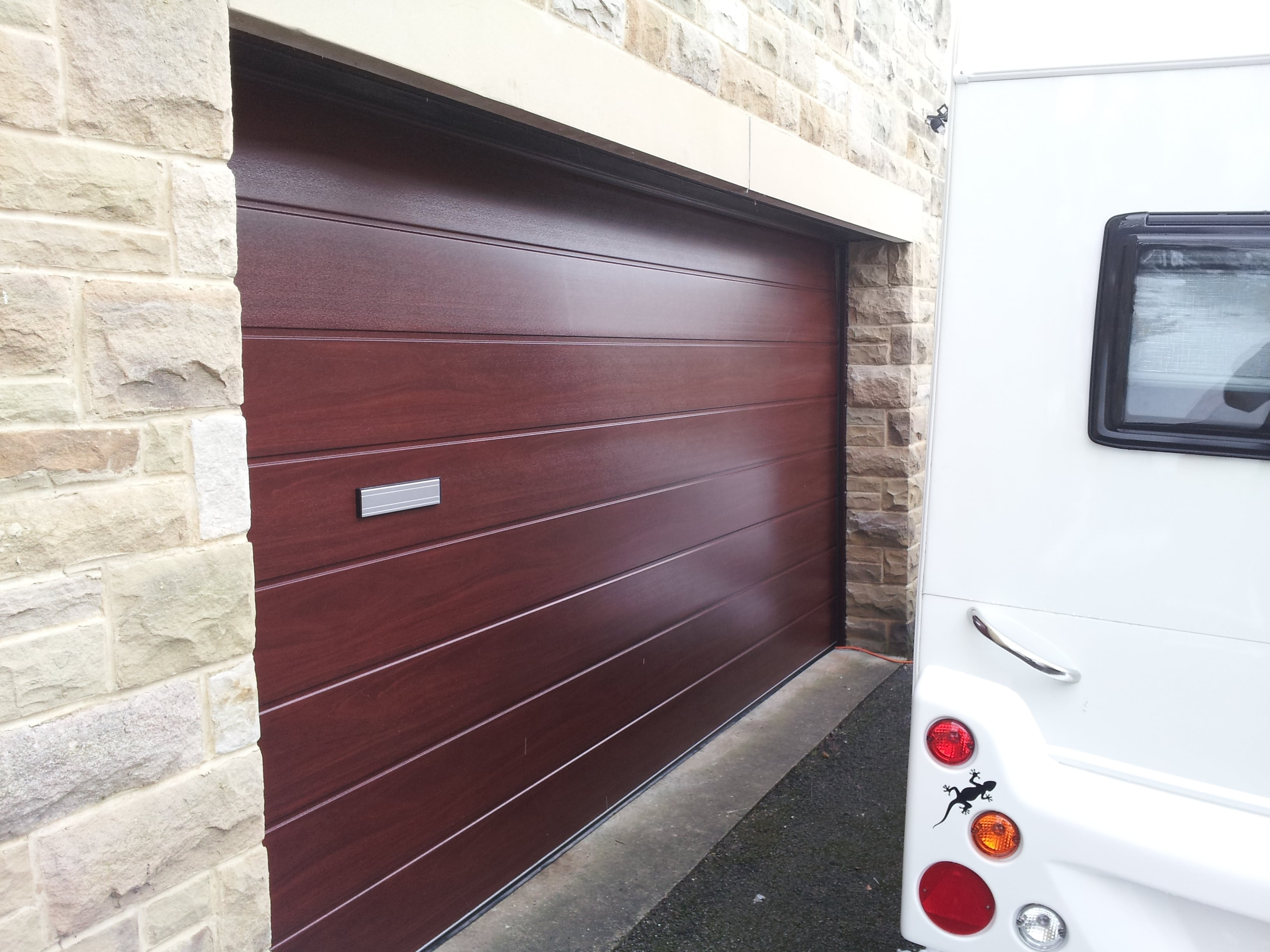 Sectional Garage Doors Earby Door Services Lancashire