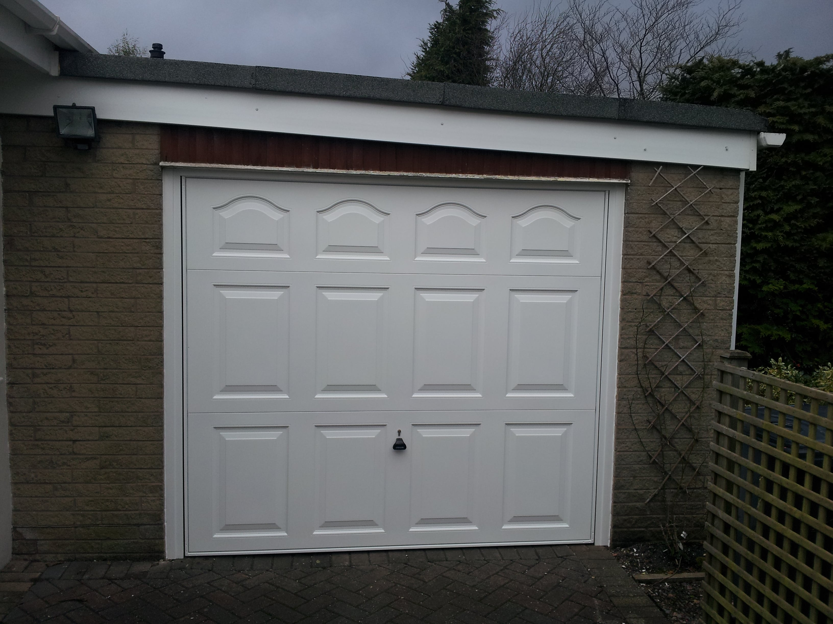 Retractable Garage Doors Earby Door Services Lancashire