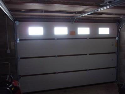 Sectional Garage Door Inside