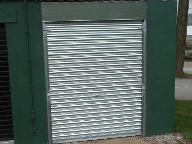 New metal industrial metal roller shutter door