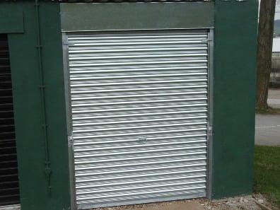 New metal industrial metal roller shutter door