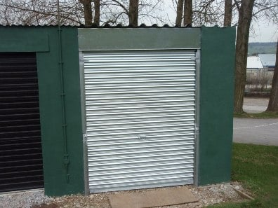 Industrial Metal Roller Shutter Door