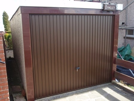 Novoferm Thornby Retractable Garage Door