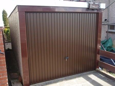 Novoferm Thornby Brown Retractable Garage Door