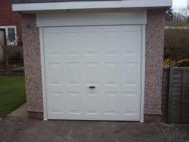Rectractable Garage Door