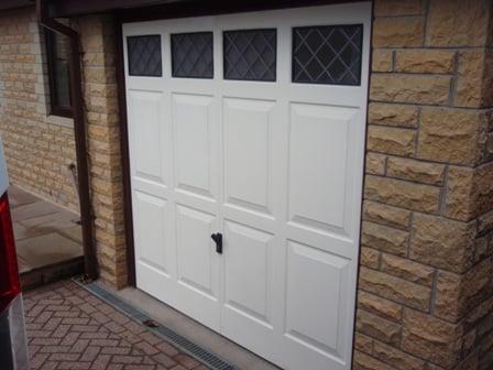 Old Retractable Door