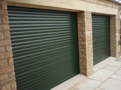 Twin Roller Garage Doors