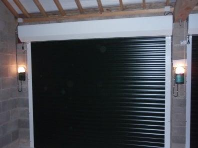 Twin Roller Garage Doors