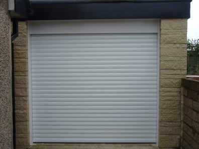 Single Roller Garage Door