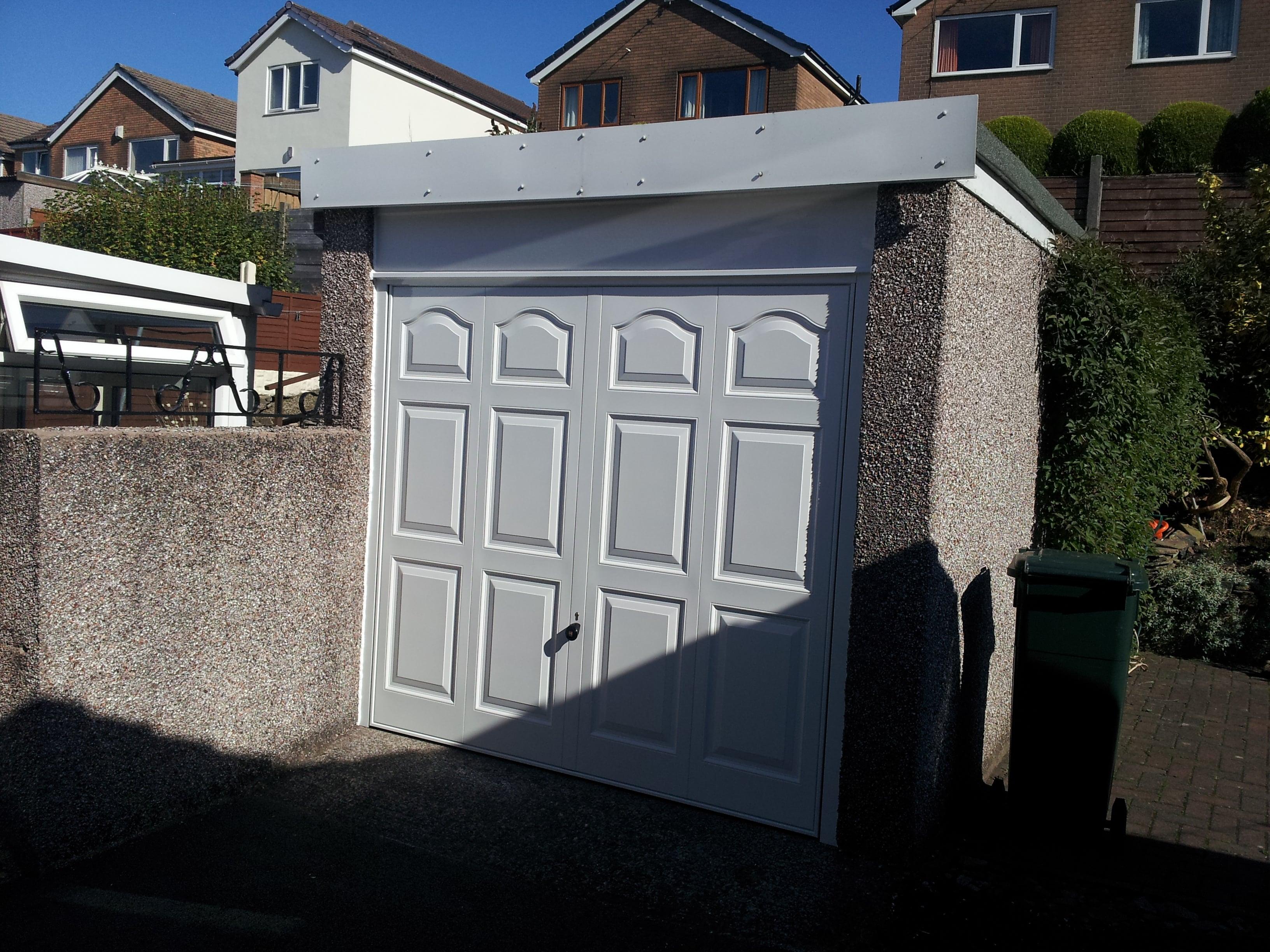 Garage Doors Sectional Roller Retractable Canopy